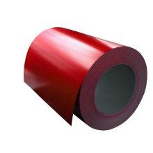 Bobina de chapa de acero de alta calidad de recubrimiento de color PPGI