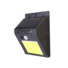 COB LED Solar PIR Motion Sensor Wall Light