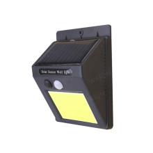 Applique murale à capteur de mouvement solaire COB LED PIR