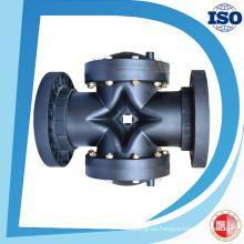 Válvula de 2 vías del precio de fábrica del control de flujo de agua hidráulico