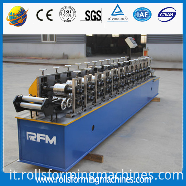 door slat roll forming machine