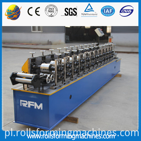 steel door roll forming machine