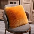 """Super furry sofa throw Pillow Cover Cushion Case 18""""x 18""""Faux Fur Throw Pillow Cover"""