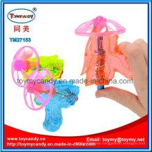 2016 Wonderful Popular Flying Colorful 9cm Disc Gun Toy