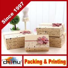 Caja de regalo de papel / caja de embalaje de papel (110239)