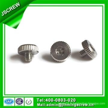 OEM Round Head Zinc Plated Steel Vis à molettes