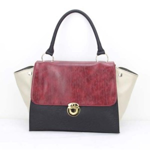 Latest Ladies Vintage Leather Handbag with Shoulder Straps