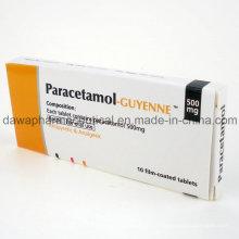 Analgetikum Drogen Ibuprofen & Paracetamol Tablet für das Gesundheitswesen