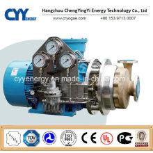 Serviço Ininterrupto Transferência de Líquido Criogênico Oxigênio Nitrogênio Argon Refrigerante Óleo Bomba Centrífuga
