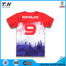 Venta al por mayor Sublimation China Soccer Jerseys