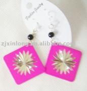 alloy earring