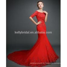 Neue Ankunftsproduktspitze wulstige Hochzeitskleid-Hochzeitskleid-Brautkleider