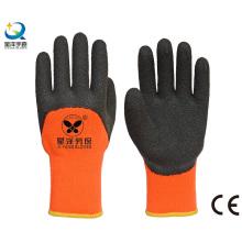Рабочие перчатки с латексными перчатками Terry Napping 3/4