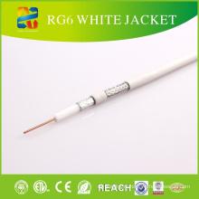 Сделано в Китае Кабельный коаксиальный RG6 с CE ETL для CATV