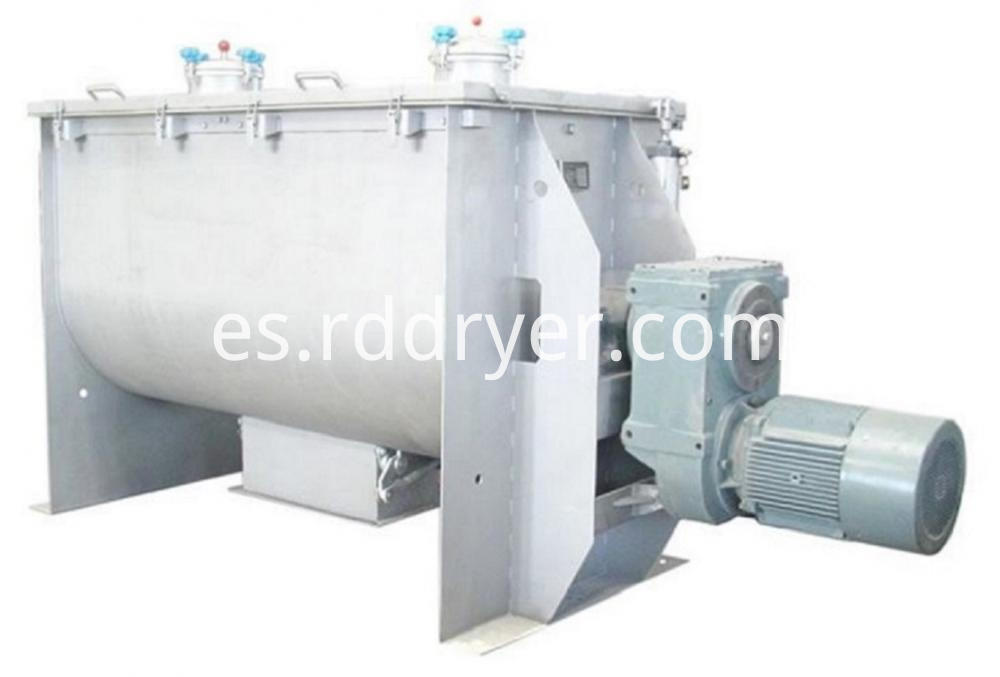 Horizontal Twin Shaft Paddle Blender