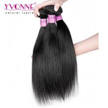 Natürliches gerades rohes reines indisches Haar
