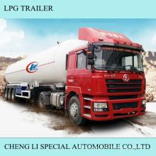 Reboque do trator de 3 eixos do reboque do gás do LPG semi