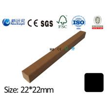 22X22mm WPC Decking Joist WPC de madera de quilla compuesto de madera Joist para Decking / Wall Panel etc con SGS CE Fsc ISO Lhma132