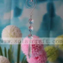 Chandelier Icicle Crystal Prisms Pendants Lamp Parts 16CM