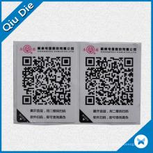 Etiqueta adhesiva de código de barras térmica para prendas de vestir / supermercado