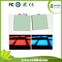 (12/24) Éclairage de plancher de danse de LED de couleur simple avec 15W / 162LEDs