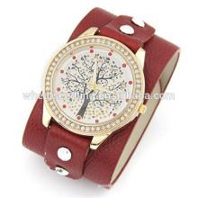 Billige benutzerdefinierte Uhr niedlichen Leder Uhren