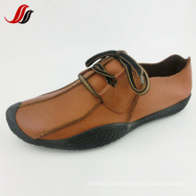 Latest Men Leisure Leather Shoes Handmade Leather Shoes (FF715-10)