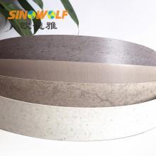 Borda de borda do PVC do Woodgrain de ABS 2mm