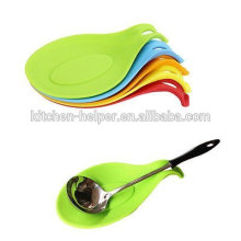 Food Grade Silicone Material Novelty Silicone Spoon Rest