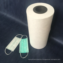 White Color BFE 99 BFE 95 Nonwoven Fabric Roll for Fack Mask Use