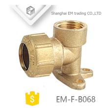 EM-F-B068 Espanha 90 graus Pex Encaixe com tubo de Cotovelo de Orelha de Gota de bronze