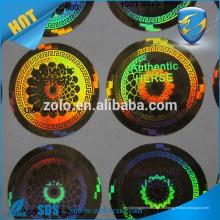 Imagen / logotipo / texto diferentes de encargo de la forma en los sellos del holograma