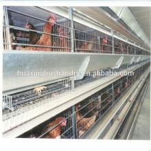 Jaula del pollo de la granja de la capa de uganda de la buena calidad del precio al por mayor para la venta