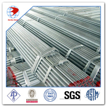 SCH40 ASTM A53 threaded galvanized steel pipe