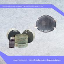 OEM buena calidad mejor precio activado máscara de gas de filtro de carbono