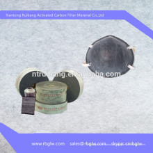máscara de poeira de máscara de filtro de carvão ativado