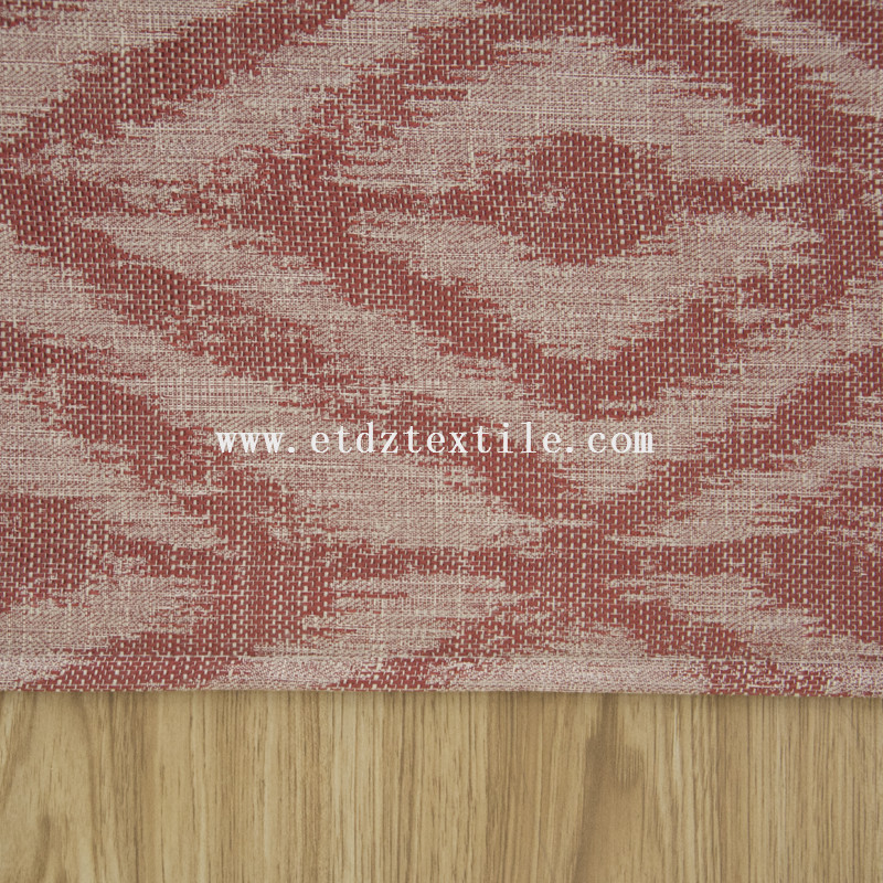Linen like polyester dyed fabric for curtain 6002