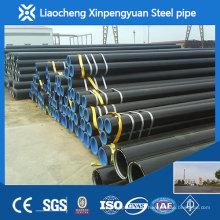 ASTM A106 Gr.B Schwarzer Kohlenstoffstahl Nahtloses Rohr SCH40 / SCH80 / SCH160