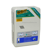 Kundenspezifischer Tsd-3k Einphasiger Servo-Typ Hochpräzise Vollautomatischer Spannungsregler / Stabilisator