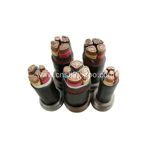 XLPE flame retardant electrical power cable 0.6/1kV