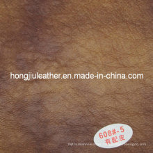 Special Pattern Sipi Leather for Furniture (Hongjiu-608#)