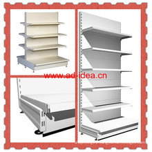 White Metal Display Shelf for Store Goods Promotion