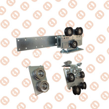 Unique Idler Pulleys for Automatic Telescopic Sliding Doors