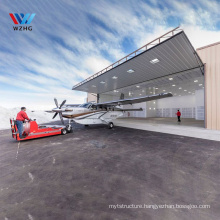 2020 Cheapest price Prefab steel structure prefabricated aircraft hangar for sale
