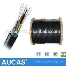 China fornecedor GYTS ao ar livre Fibra Óptica GYTS cabo Preço