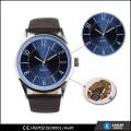 Marca de reloj de cuarzo reloj de acero inoxidable resistente al agua hombres reloj