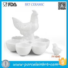 for Sale Hen and Egg Egg Placement Ceramic Egg Cup