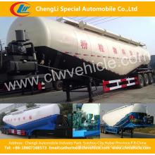 3 Alxes V Typ Bulk Zement Power Tank Auflieger