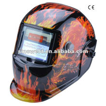 Solar auto-oscurecimiento casco de soldadura MD0406
