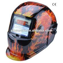 Capacete de soldagem auto-escurecimento solar MD0406